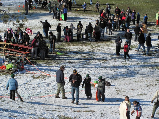 0505 Winter Fun Day 2013 Slingshot Paintball