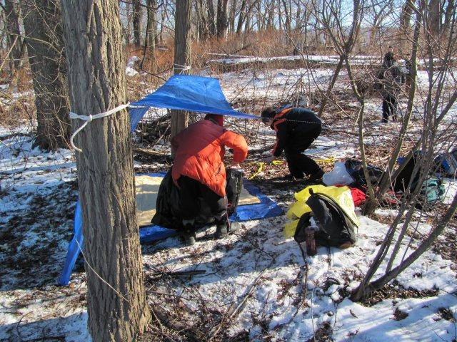 1302 Winter Fun Day 2013 Webelos Survival Skills